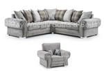 Verona 2C2 Corner Sofa & Chair Set