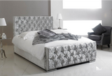 Florida Bed Frame & Mattress Set - Glitz Silver