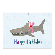 Load image into Gallery viewer, Shark Birthday Card