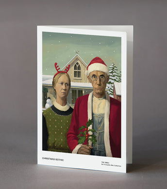 Christmas Gothic Card