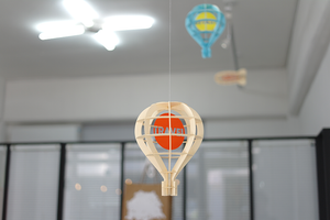 Paper Mobile Air Balloon