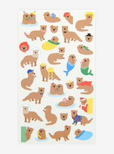 Load image into Gallery viewer, Paper Sticker - 16 Otter