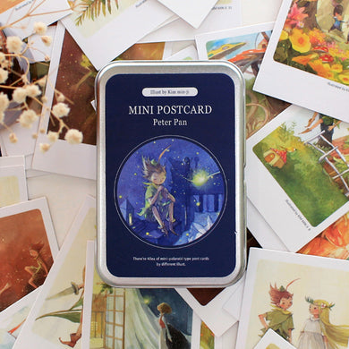 Illustrated Mini Postcard - Peter Pan