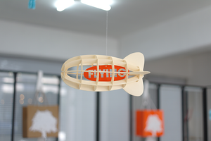Paper Mobile Air Ship