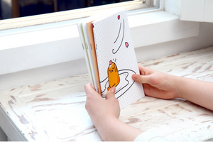Gudetama A5 Lined Notebook
