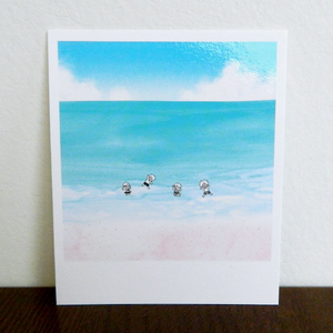 Polaroid-Summer Beach