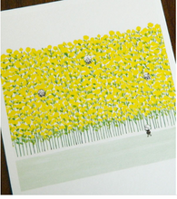 Load image into Gallery viewer, Polaroid-Yellow Flowers