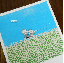 Load image into Gallery viewer, Polaroid-White Dandelion field