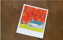 Load image into Gallery viewer, Polaroid Ver.2 - Fall Cabin