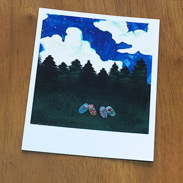 Polaroid ver.2-Night Sky