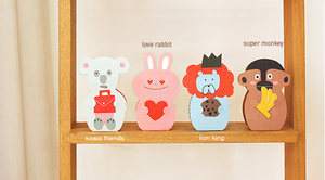 Thanks Paper Stand Up Card: Koala Friends