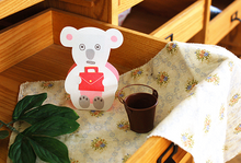Load image into Gallery viewer, Thanks paper stand up card Sweet Bear