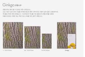 Woodpecker Note-Ginkgo (medium:blank)