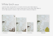 Load image into Gallery viewer, Woodpecker Note-White Birch (medium:lined)