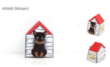 Load image into Gallery viewer, Puppy House Memo It Kkami (Minipin)
