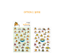 "Load image into Gallery viewer, Gudetama Stickers: Option 2 ""Play With Me"""