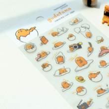 "Load image into Gallery viewer, Gudetama Stickers: Option 3 ""Lazy"""