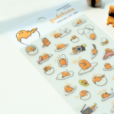 Gudetama Stickers: Option 3