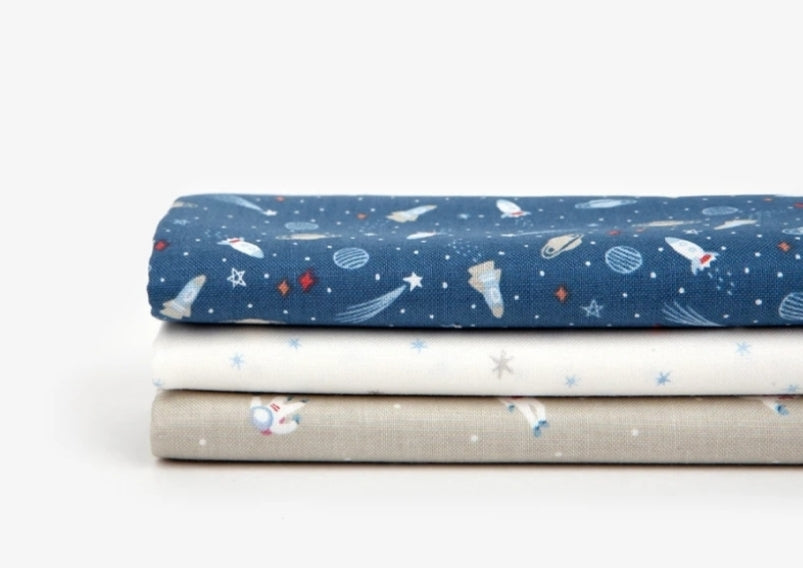 Quarter Fabric Pack (Cotton): World of Space