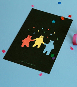 Jelly Bear Postcard
