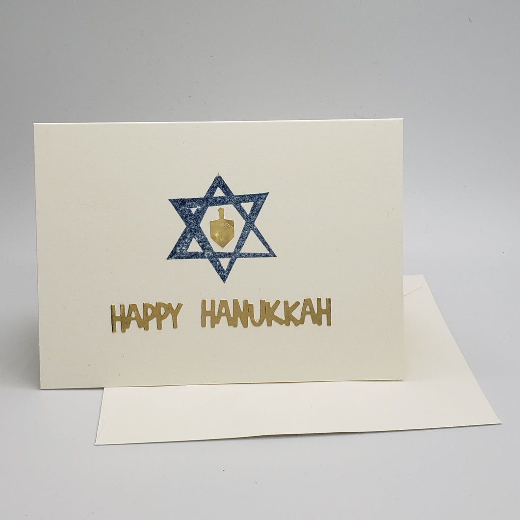 Happy Hanukkah - Star of David