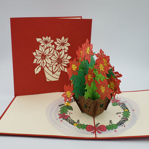 Poinsettia Pop Up