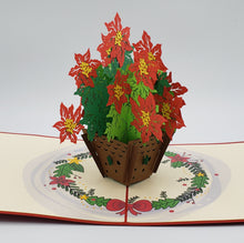 Load image into Gallery viewer, Poinsettia Pop Up