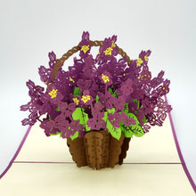 Load image into Gallery viewer, Basket of Violets