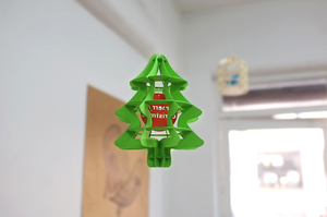 Paper Mobile Christmas Tree
