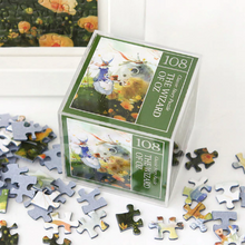 Load image into Gallery viewer, Indigo Mini Puzzle 108 Pieces - Wizard of Oz (Green)