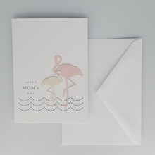Load image into Gallery viewer, Flamingo Mother's Day Card