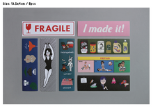 Load image into Gallery viewer, Ooh La La 50 Sticker Pack Ver. 3