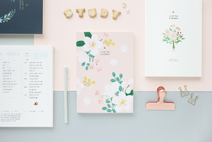 Slow and Steady 6 Month Study Planner - Cherry Blossom