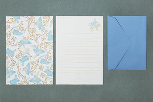 Bird Wood Letter Paper set