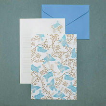 Load image into Gallery viewer, Bird Wood Letter Paper set