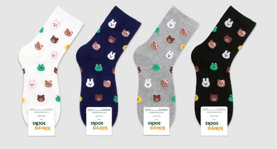 Assorted Animal Patterned Socks