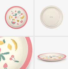 Load image into Gallery viewer, Bamboo Kids Dinner Set ver.2 - Fresh Fruit