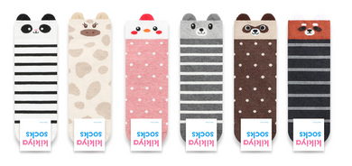 Panda Stripe Socks