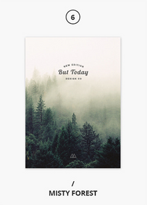 But Today Planner - Misty Forest