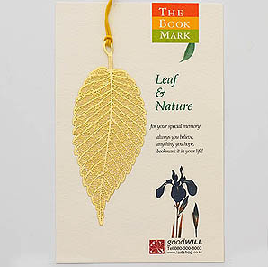 Gold-Plated Bookmark - Celtis