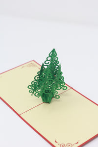 Swirly Christmas Tree
