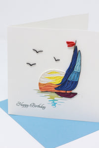 Birthday Sailboat