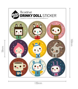 Drinky Doll Stickers