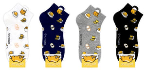 Gudetama Lunch Box Patterned Socks - Ankle