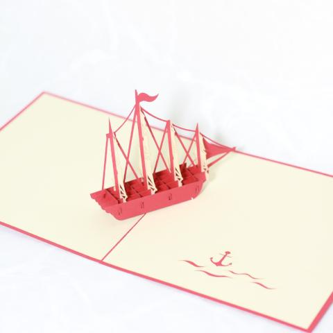 Ship with Many Sails
