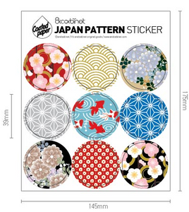 Japanese Pattern Stickers
