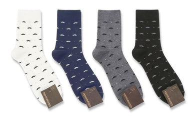 Moustache Patterned Socks