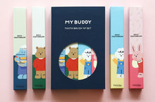 Load image into Gallery viewer, My Buddy Toothbrush 4 Piece Set