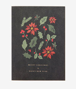 Notecard - Merry Christmas and Happy New Year