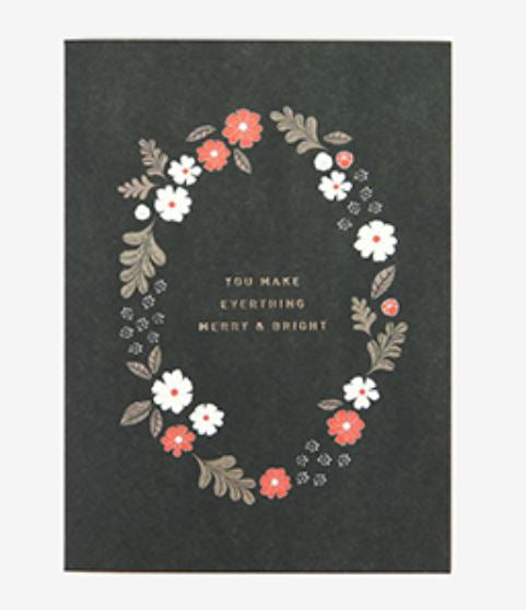 Notecard - You Make Everything Merry and Bright